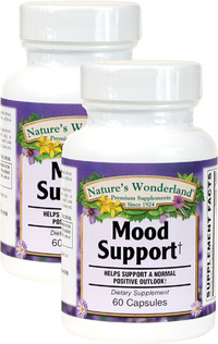 Mood Support, 60 Capsules each (Nature's Wonderland)