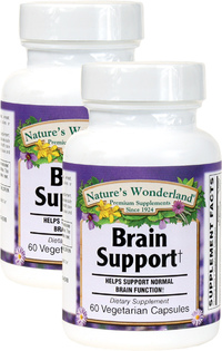 Brain Support, 60 Vegetarian Capsules Each (Nature's Wonderland)