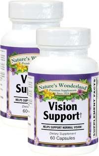 Vision Support, 60 Capsules each (Nature's Wonderland)