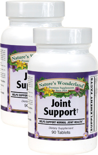 Joint Support, 90 Tablets Each (Nature's Wonderland)