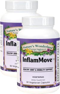 InflamMove, 90 Vegetarian Capsules Each (Nature's Wonderland)