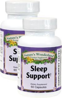 Sleep Support, 60 Capsules Each (Nature's Wonderland)