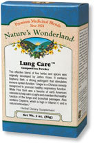 Lung Care™ Composition Powder, 3 oz (Nature's Wonderland)