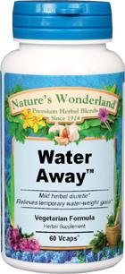 Water Away™ - 475 mg, 60 Veg Capsules (Nature's Wonderland)