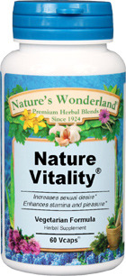 Nature Vitality® - 525 mg, 60 Veg Capsules (Nature's Wonderland)