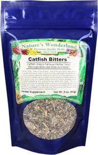 Catfish Bitters™ Tea, 3 oz (Nature's Wonderland)