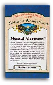 Mental Alertness™ Tea, 3 oz (Nature's Wonderland)
