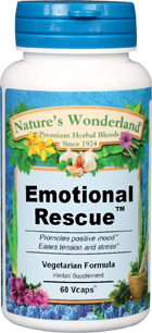 Emotional Rescue™ - 575 mg, 60 Vcaps (Nature's Wonderland)