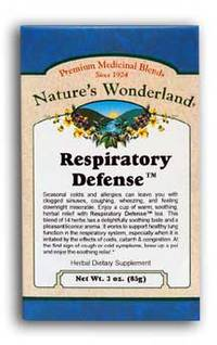 Respiratory Defense™ Tea,  3 oz (Nature's Wonderland)