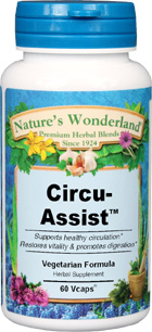 Circu Assist™ - 525 mg, 60 Vcaps  (Nature's Wonderland)