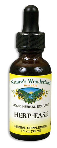 Herp Ease Liquid Extract, 1 fl oz / 30ml  (Nature's Wonderland)