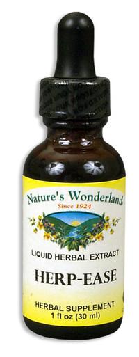Herp Ease Liquid Extract, 1 fl oz / 30ml  (Nature's Wonderland)