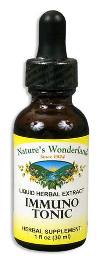 Immuno Tonic Extract, 1 fl oz/ 30ml  (Nature's Wonderland)