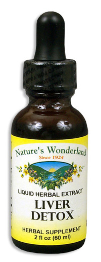 Liver Detox Liquid Extract, 1 fl oz / 30ml  (Nature's Wonderland)