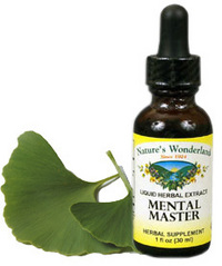 Mental Master Liquid Extract, 1 fl oz (Nature's Wonderland)