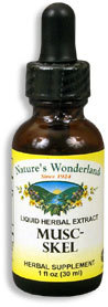 Musc-Skel Liquid Herb Extract, 1 fl oz (Nature's Wonderland)
