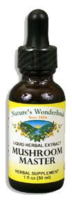 Mushroom Master Liquid Extract, 1 fl oz / 30ml  (Nature's Wonderland)