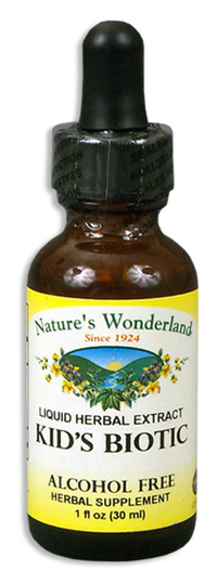 Kids Biotic Liquid Extract, 1 fl oz / 30 ml  (Nature's Wonderland)