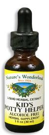 Kid's Potty Helper Liquid Extract, 1 fl oz / 30 ml (Nature's Wonderland)