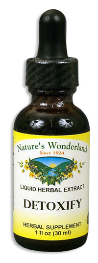 Detoxify Liquid Extract, 1 fl oz (Nature's Wonderland)