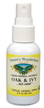 Poison Oak & Ivy Topical Spray, 2 fl oz / 60 ml (Nature's Wonderland)