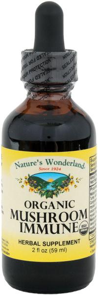 Mushroom Immune Liquid Extract, 2 fl oz (Nature's Wonderland)