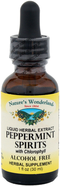 Peppermint Spirits, 1 fl oz / 30 ml (Nature's Wonderland)