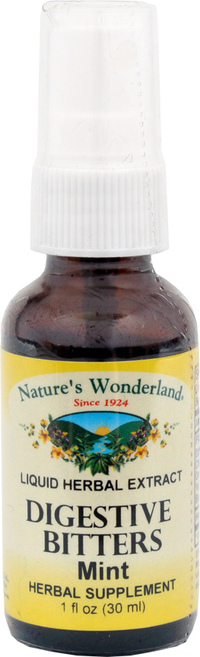 Digestive Bitters - Mint, 1 fl oz (Nature's Wonderland)