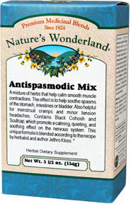 Antispasmodic Mixture Powder, 5 1/2 oz  (Nature's Wonderland)