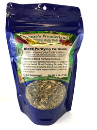 Blood Purifying Formula Tea, 4 oz  (Nature's Wonderland)