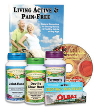 Dr. Susan's Joint Flexibility Package, 5 items + Living Active & Pain Free Booklet