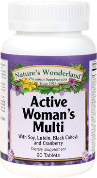 Active Woman Multivitamin, 90 Tablets (Nature's Wonderland)