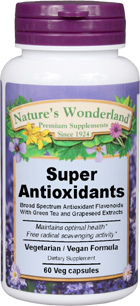 Super Antioxidants, 60 Vcaps™ (Nature's Wonderland)