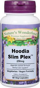 Hoodia Slim Plex™ - 250 mg, 60 Veg Caps (Nature's Wonderland)