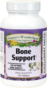 Bone Support, 120 Tablets (Nature's Wonderland)