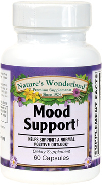 Mood Support, 60 Capsules (Nature's Wonderland)