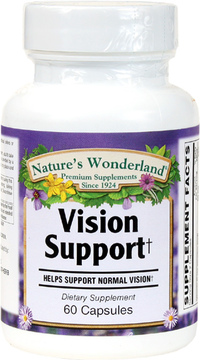 Vision Support, 60 Capsules (Nature's Wonderland)