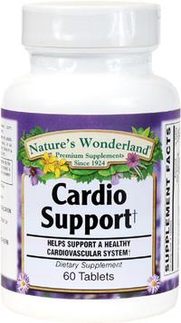 Cardio Support, 60 Capsules (Nature's Wonderland)
