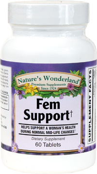 Fem Support, 60 Tablets (Nature's Wonderland)