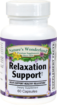 Relaxation Support, 60 Capsules (Nature's Wonderland)