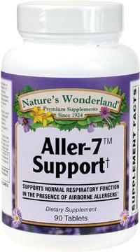 Aller-7 Support, 90 Tablets (Nature's Wonderland)
