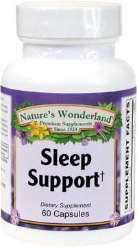 Sleep Support, 60 Capsules (Nature's Wonderland)