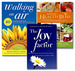 The Joy Factor + Walking On Air + Recipes For Health Bliss by Susan Smith Jones, Ph.D.