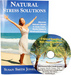 Natural Stress Solutions: Discover Nature's Secret to Inner Calm, Restful Sleep & Newfound Energy by Susan Smith Jones, Ph.D. Plus Bonus CD