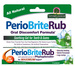 Perio Brite Rub Mouth Gel - Cool Mint, 4 oz (Nature's Answer)
