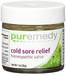 Cold Sore Relief Homeopathic Salve, 1 oz (Puremedy)