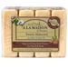 Hand & Body Soap - Sweet Almond, 4-pack / 3.5 oz each (A La Maison)