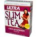 Ultra Slim Tea - Cran-Raspberry, 24 tea bags  (Hobe Labs)