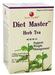 Diet Master Herb Tea, 20 tea bags (Health King)