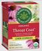 Throat Coat® Lemon Echinacea - Organic, 16 tea bags (Traditional Medicinals)